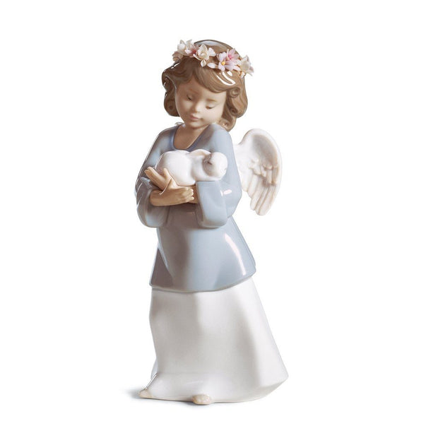 Lladro Porcelain Heavenly Love Figurine Figurines Lladro