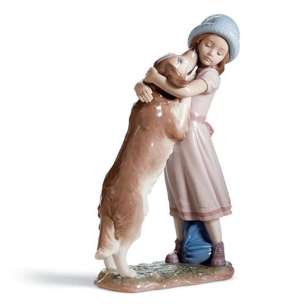 Lladro Porcelain A Warm Welcome Figurine Figurines Lladro