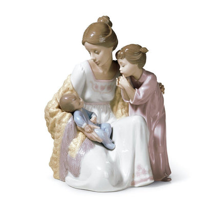 Lladro Porcelain Welcome To The Family Figurine Figurines Lladro