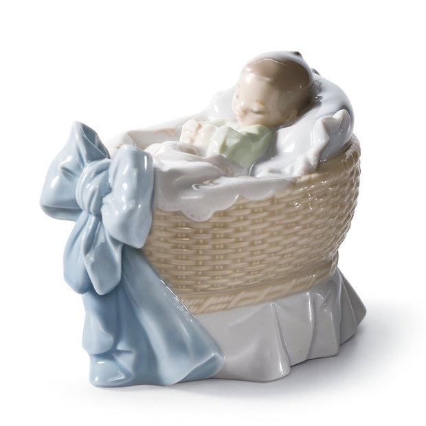 Lladro Porcelain A New Treasure Figurine Boy Figurines Lladro