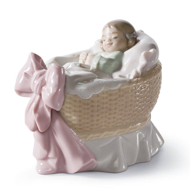 Lladro Porcelain A New Treasure Figurine Girl Figurines Lladro