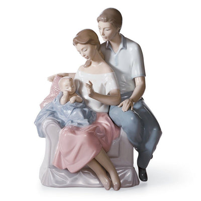 Lladro Porcelain A Circle Of Love Figurine Figurines Lladro