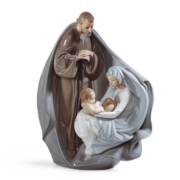 Lladro Porcelain Birth Of Jesus Figurine Figurines Lladro