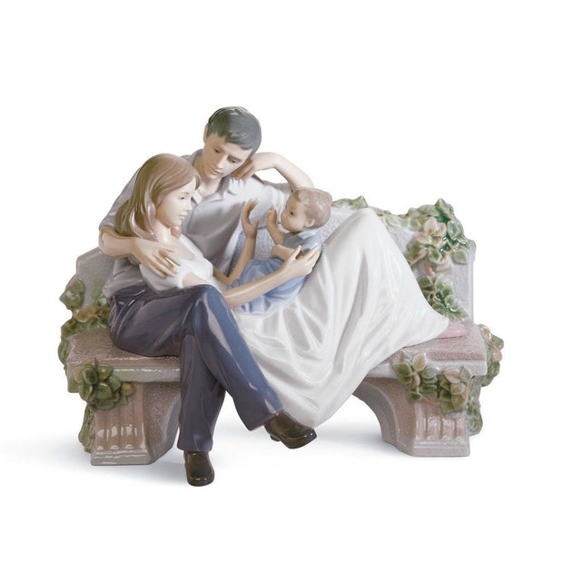 Lladro Porcelain A Priceless Moment Figurine Figurines Lladro