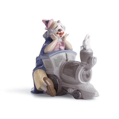 Lladro Porcelain Circus Express Figurine Figurines Lladro