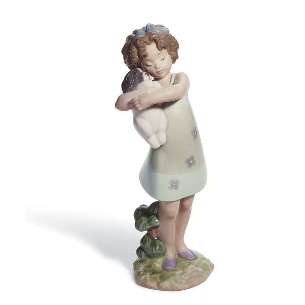 Lladro Porcelain Learning To Care Figurine Figurines Lladro