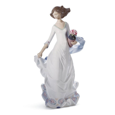 Lladro Porcelain Reverie Moment Figurine Figurines Lladro