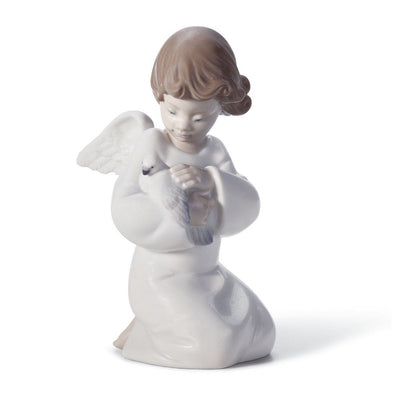 Lladro Porcelain Loving Protection Figurine Figurines Lladro