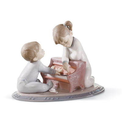 Lladro Porcelain First Melodies Figurine Figurines Lladro
