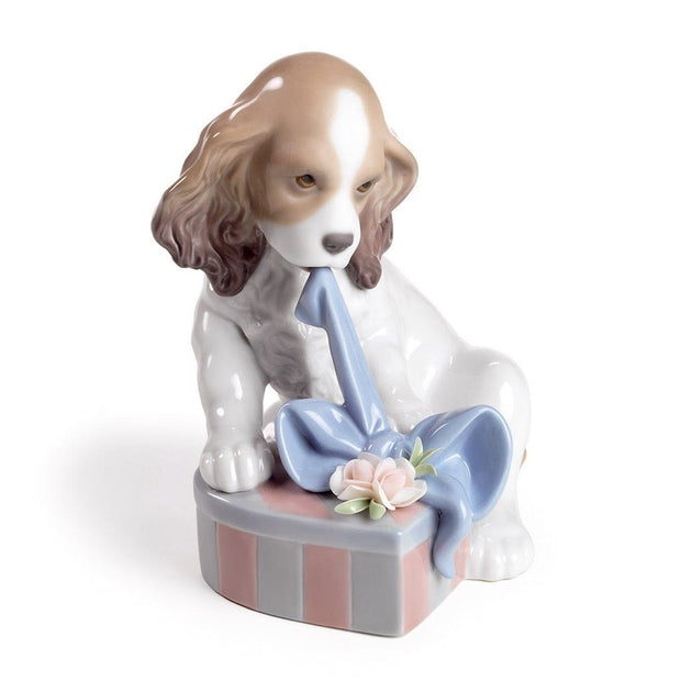 Lladro Porcelain Can't Wait! Figurine Figurines Lladro