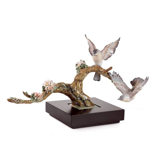 Lladro Porcelain Forest Song Figurine Figurines Lladro