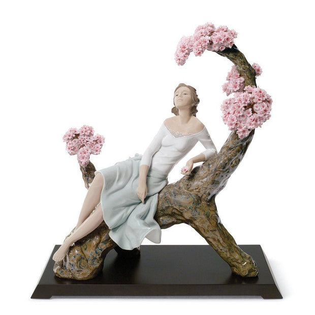Lladro Porcelain Sweet Scent Of Blossoms Figurine LE 2000 Figurines Lladro
