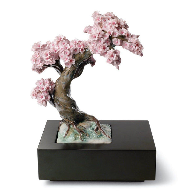 Lladro Porcelain Blossoming Tree Figurine Figurines Lladro