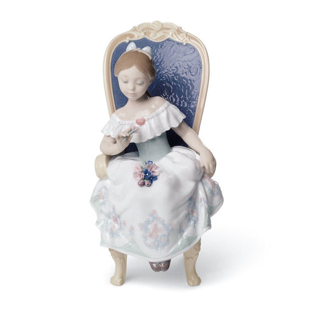 Lladro Porcelain A Gift From My Sweetheart Figurine Figurines Lladro