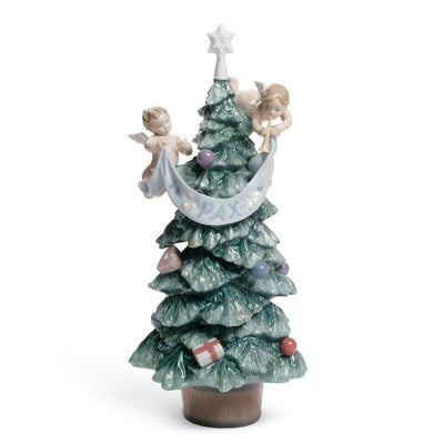 Lladro Porcelain Evergreen Of Peace Figurine Figurines Lladro