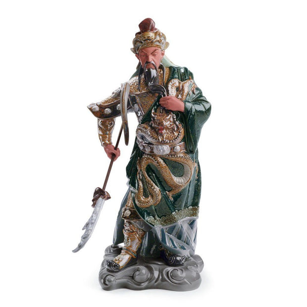 Lladro Porcelain Ancient Dynasty Warrior Figurine Figurines Lladro