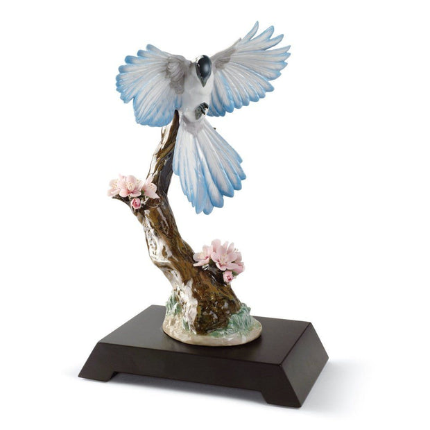 Lladro Porcelain Season In Bloom Bird Figurine Figurines Lladro