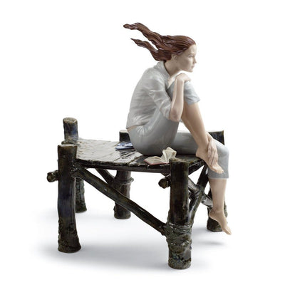 Lladro Porcelain Sunset At The Pier Figurine Figurines Lladro