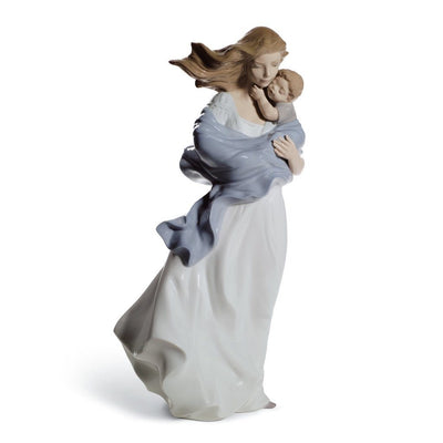Lladro Porcelain Loving Touch Figurine Figurines Lladro