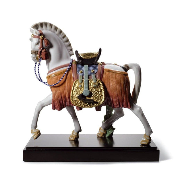 Lladro Porcelain The White Horse Of Hope Figurine LE 3500 Figurines Lladro