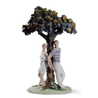 Lladro Porcelain The Tree Of Love Figurine Figurines Lladro