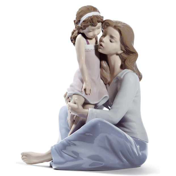 Lladro Porcelain Mommy's Little Girl Figurine Figurines Lladro