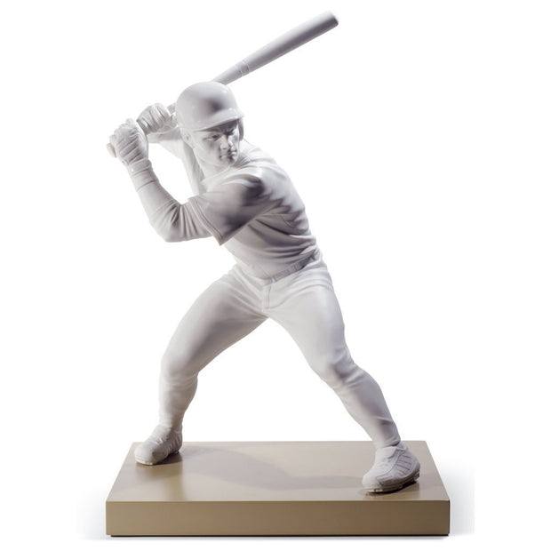 Lladro Porcelain Swing For The Fences Figurine Figurines Lladro