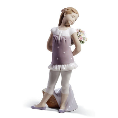 Lladro Porcelain Your Favorite Flowers! Figurine Figurines Lladro