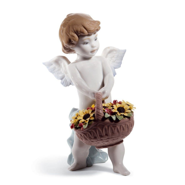 Lladro Porcelain Heaven's Harvest Figurine 60th Anniversary Figurines Lladro
