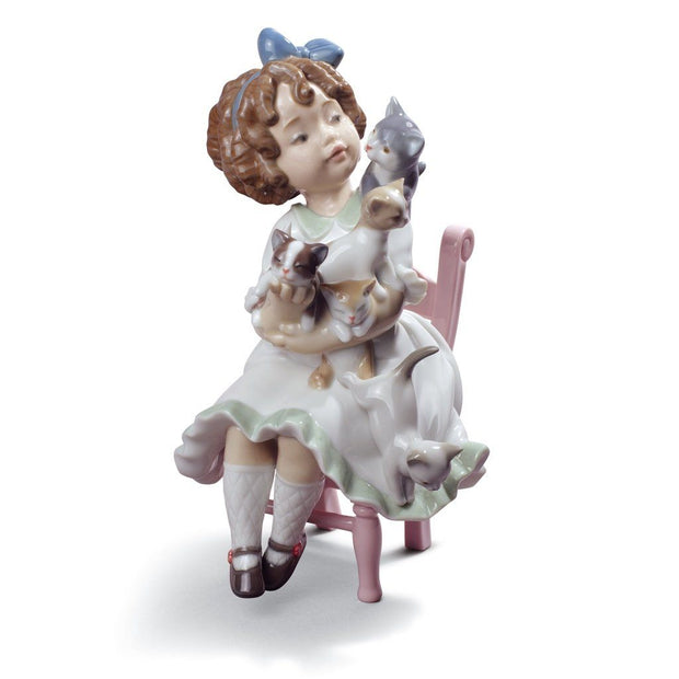Lladro Porcelain My Little Family Figurine Figurines Lladro