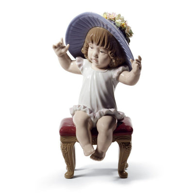 Lladro Porcelain Dress Up Time Figurine Figurines Lladro