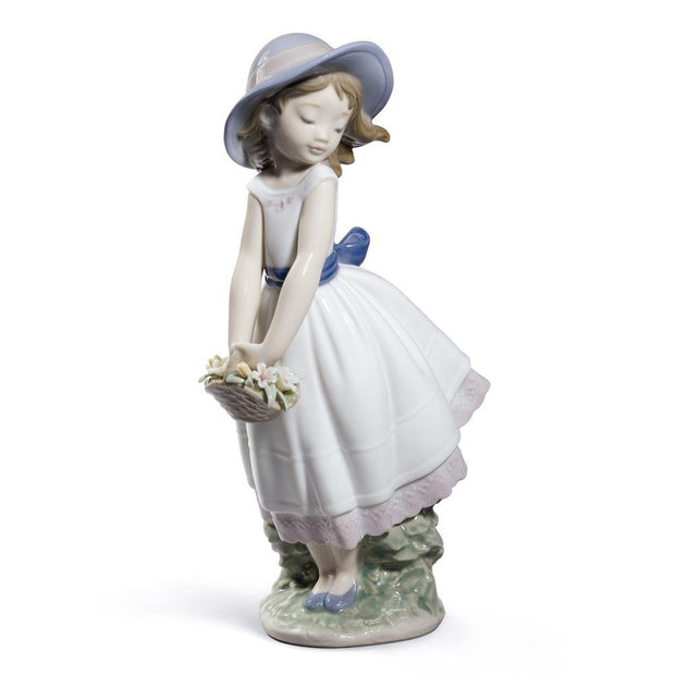 Lladro Porcelain Pretty Innocence Figurine Special Edition Figurines Lladro