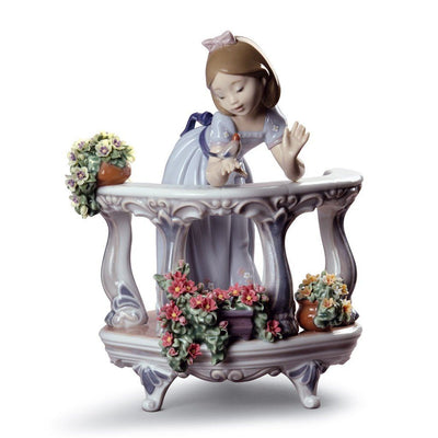 Lladro Porcelain Morning Song Figurine Special Edition Figurines Lladro