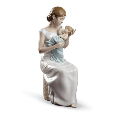 Lladro Porcelain Soothing Lullaby Figurine Figurines Lladro