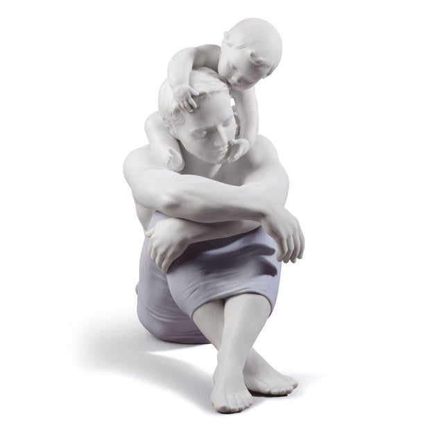 Lladro Porcelain I Love You, Dad Figurine Figurines Lladro