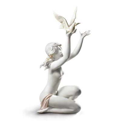 Lladro Porcelain Peace Offering Figurine Figurines Lladro