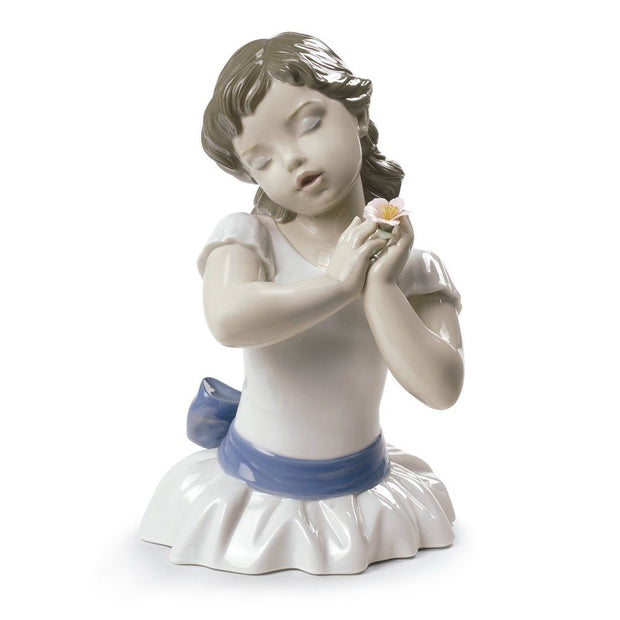 Lladro Porcelain Beautiful Blossom Figurine Figurines Lladro