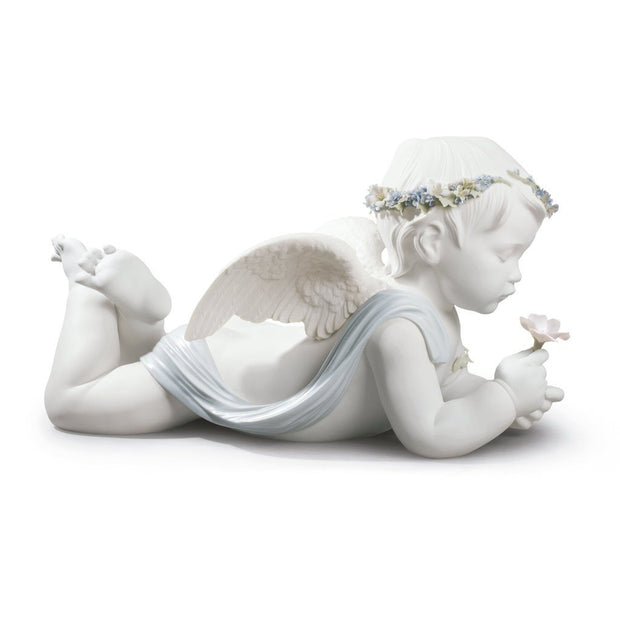 Lladro Porcelain My Loving Angel Figurine Figurines Lladro