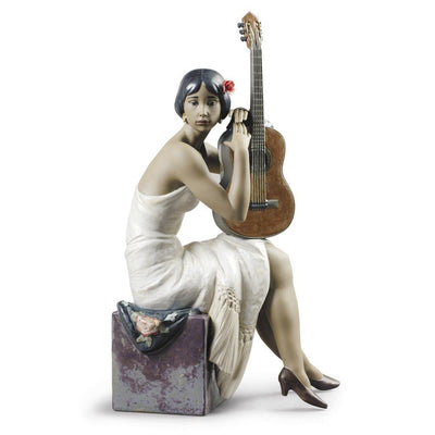 Lladro Porcelain The Flamenco Singer Figurine Figurines Lladro