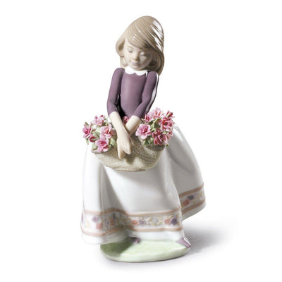 Lladro Porcelain May Flowers Figurine Special Edition Figurines Lladro