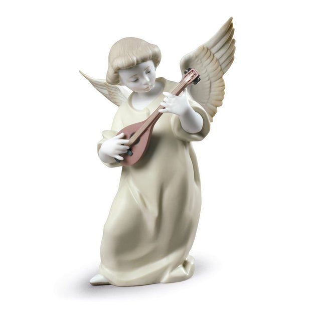 Lladro Porcelain Heavenly Strings Figurine Figurines Lladro