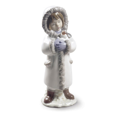 Lladro Porcelain Winter Friends Figurine Figurines Lladro