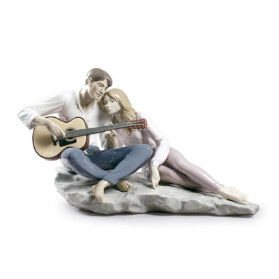 Lladro Porcelain Our Song Figurine Figurines Lladro