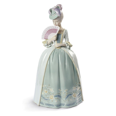 Lladro Porcelain Kisses Figurine Blue Figurines Lladro