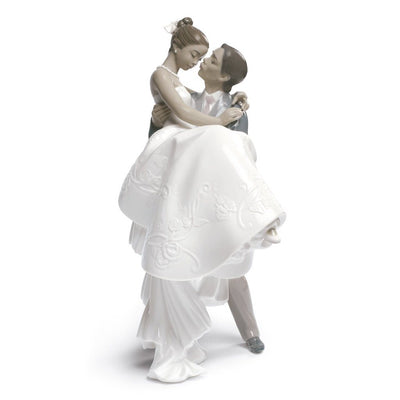 Lladro Porcelain The Happiest Day Figurine Figurines Lladro