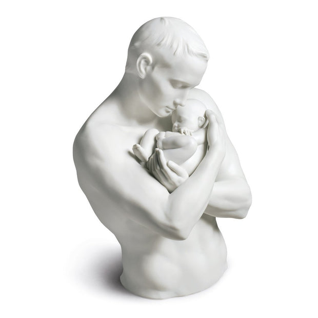 Lladro Porcelain Paternal Protection Figurine Figurines Lladro