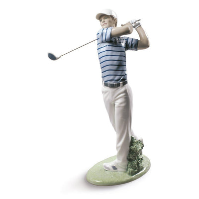 Lladro Porcelain Golf Champion Figurine Figurines Lladro