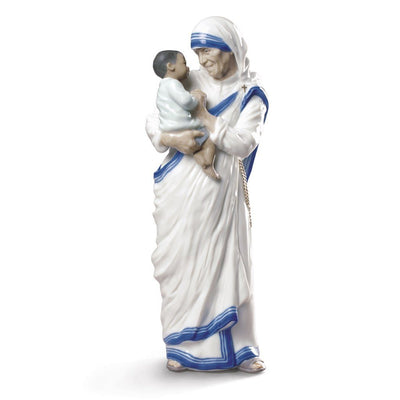 Lladro Porcelain Mother Teresa Of Calcutta Figurine Figurines Lladro