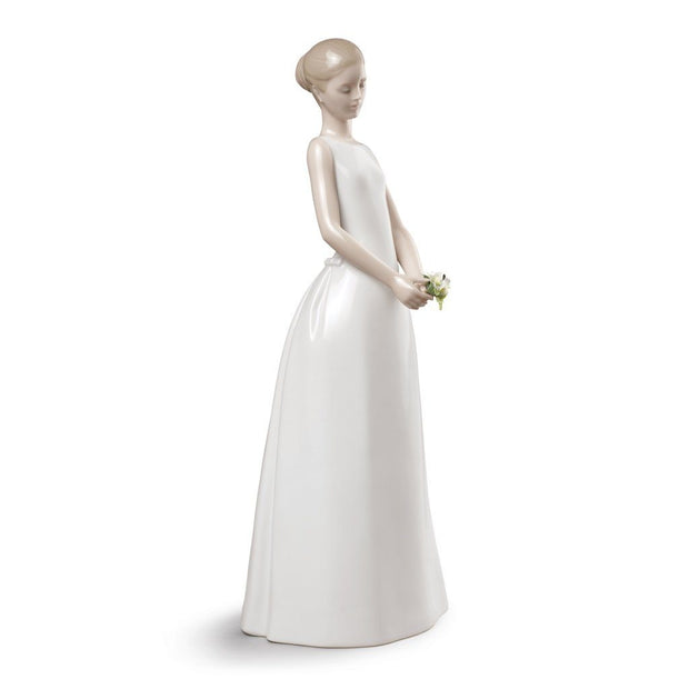 Lladro Porcelain Wedding Day Figurine Figurines Lladro