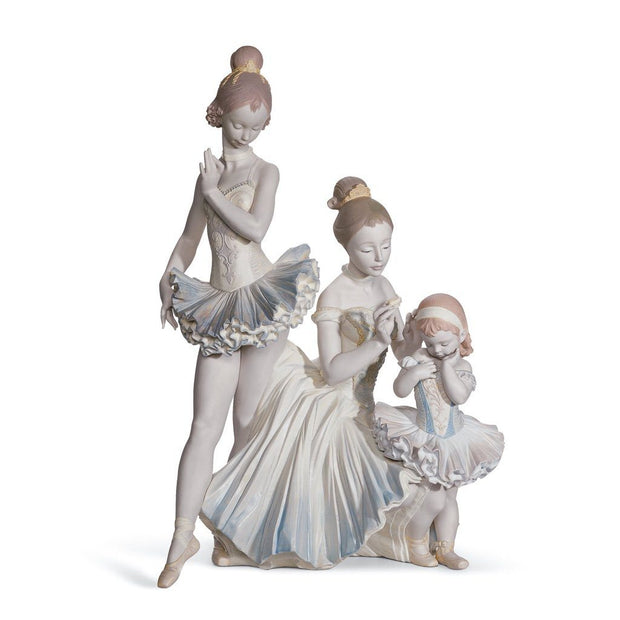 Lladro Porcelain Love For Ballet Figurine LE 500 Figurines Lladro